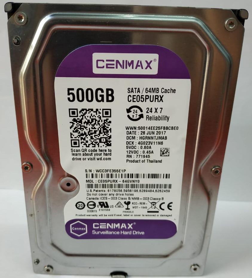 Жесткий диск HDD 500 Gb  CENMAX