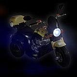 AIM BEST Электро-Мотоцикл MD-1188, колеса пластик, фото 3