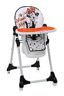 Стульчик для кормления Polini 470 Disney baby (Микки Маус белый), фото 1