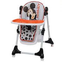 Стульчик для кормления Polini 470 Disney baby (Микки Маус серый)