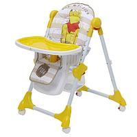 Стульчик для кормления Polini 470 Disney baby (Медвежонок Винни), фото 1