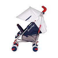 Детская прогулочная коляска Happy Baby Cindy New Blue, фото 1