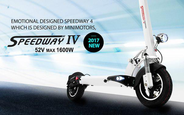 SpeedWay 4, 1600W 52V 26Ah