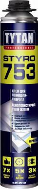 Клей для пенополистирола Styro 753 Tytan 750ml
