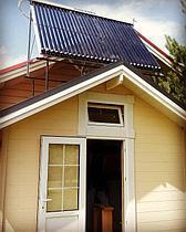 Солнечный водонагреватель 30 вакуумных трубок NRG-30, с тепловой мощностью 4 кВт