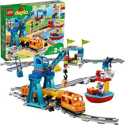 Конструктор  Lego Duplo 10875 Грузовой поезд