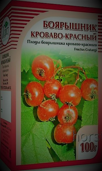 Боярышник кроваво-красный, плоды, 100гр