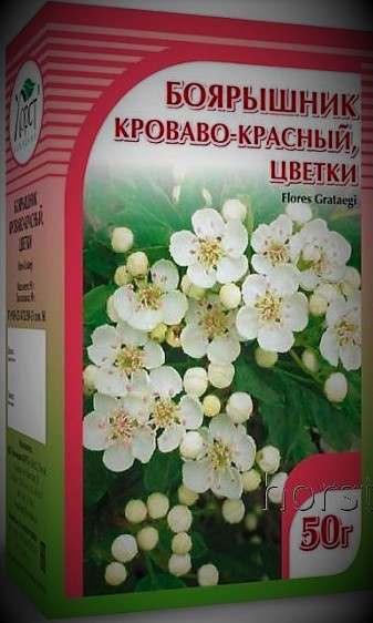 Боярышник кроваво-красный, цветы, 50гр
