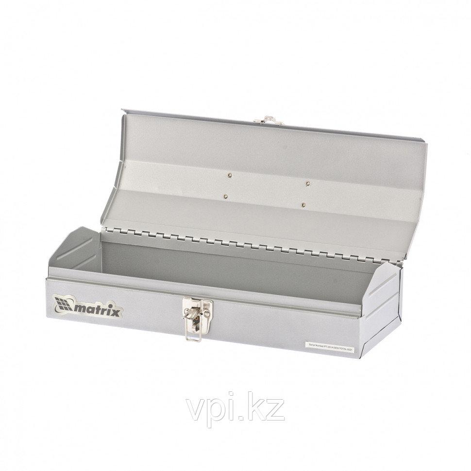 Ящик для инструмента,  металлический,  410*154*95мм. Matrix