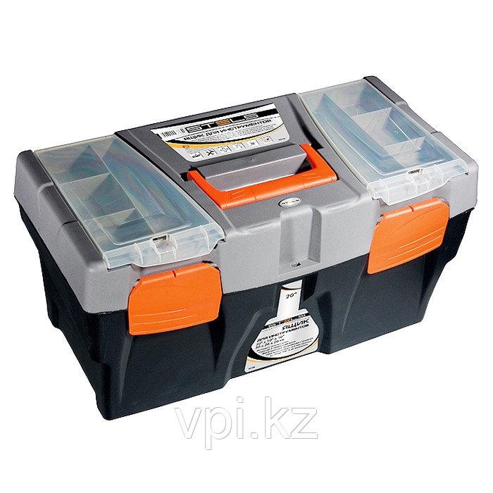 """Ящик для инструментов 24"""", 590*300*300мм.,STELS"""
