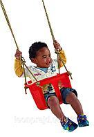 Детское кресло-качель жёсткое пластиковое