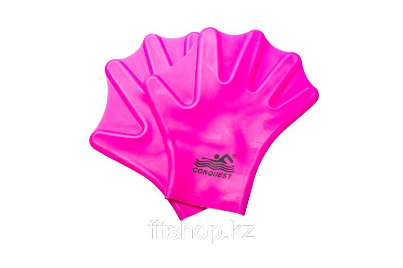 Перчатки с перепонками для плавания
