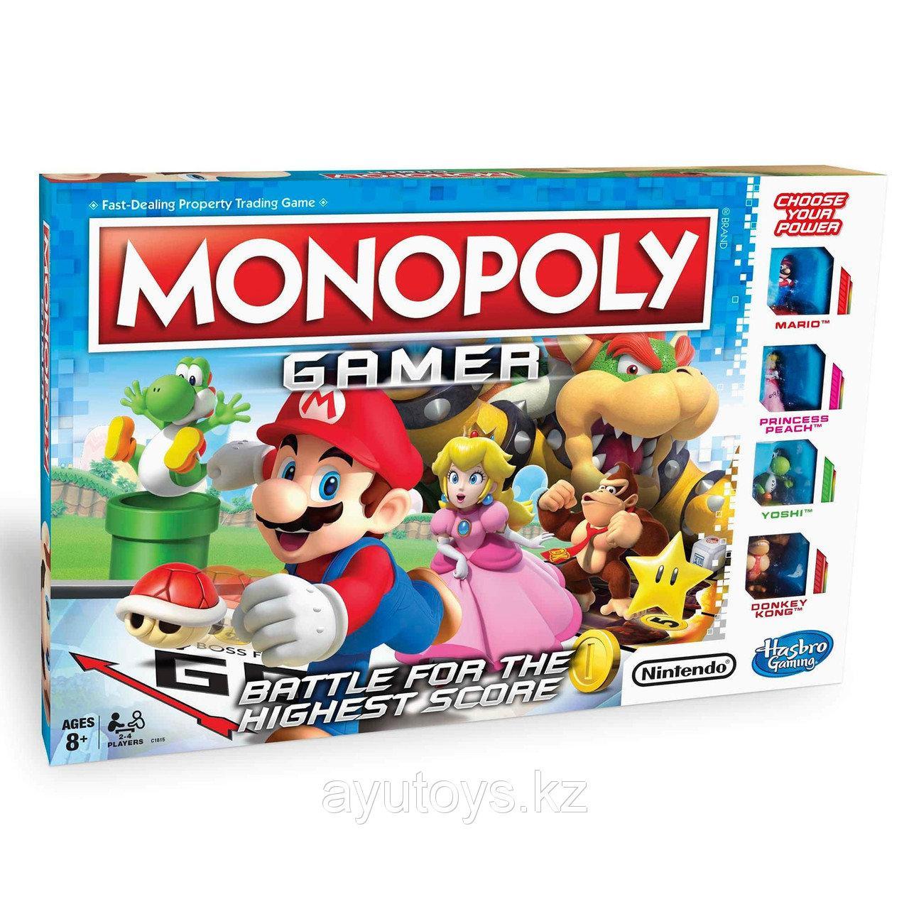 Монополия GAMER (геймер)