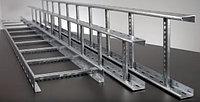 Лоток лестничный 80х500х3000, 1,2 мм, фото 1