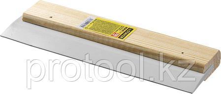 """Шпатель резиновый STAYER """"MASTER"""" для затирки, белый, 250 мм, фото 2"""