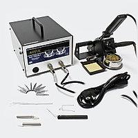 AOYUE INT702A+ Паяльная антистатическая станция с паяльником и термопинцетом