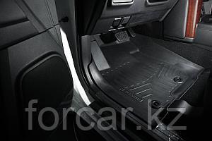 Коврики резиновые в салон 3D LUX для Toyota Prado 150 (2013-), 3 шт