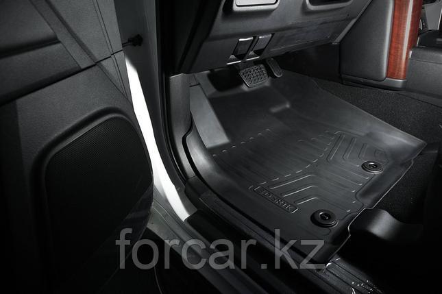 Коврики резиновые в салон 3D LUX для Toyota Prado 150 (2013-), 3 шт, фото 2