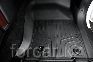 Коврики резиновые в салон 3D LUX для Toyota Prado 150 (2013-), 3 шт, фото 3
