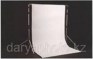 Фон студийный (матерчатый). Тканевый фон для фотостудии. Белый