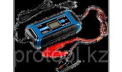 """Зарядное устройство ЗУБР """"ПРОФЕССИОНАЛ"""", 6В/12В, 4А, автомат, IP65, AGM, GEL, WET"""
