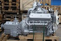 Двигатель с коробкой передач и сцеплением 6 комплектации (ПАО Автодизель) для двигателя ЯМЗ 236НЕ2-1000022