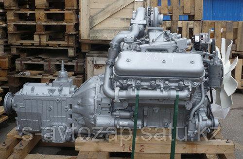 Двигатель с коробкой передач и сцеплением 8 комплектации (ПАО Автодизель) для двигателя ЯМЗ 236НЕ2-1000024