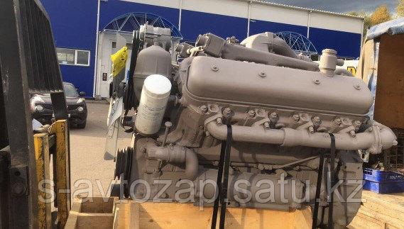 Двигатель с коробкой передач и сцеплением осн. комплектации (ПАО Автодизель) для двигателя ЯМЗ  236М2-1000016