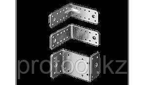 Крепежный угол усиленный, 65х90х90мм, 1шт, ЗУБР Мастер, фото 2