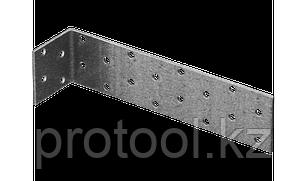Крепежный угол, 35х50х50мм, 1шт, ЗУБР Мастер, фото 2