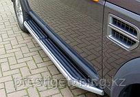 Пороги родные на Land Rover Discovery 3