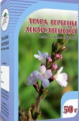 Вербена лекарственная, трава, 50гр