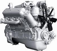 Двигатель без коробки передач со сцеплением 59 комплектации (ПАО Автодизель) для двигателя ЯМЗ 2362-1000146-59