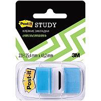 Закладки клейкие POST-IT 25,4 х 43,2 мм  голубые