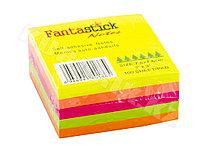 Клейкие листики FantaStick 76 х 76 мм, 5 цветов, 350 листов