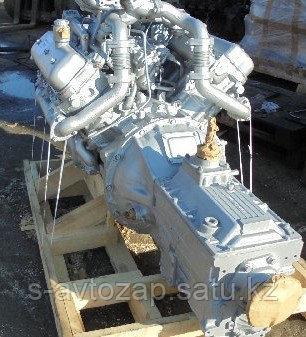Двигатель с коробкой передач и сцеплением 26 комплектации (ПАО Автодизель) для двигателя ЯМЗ  238М2-1000066