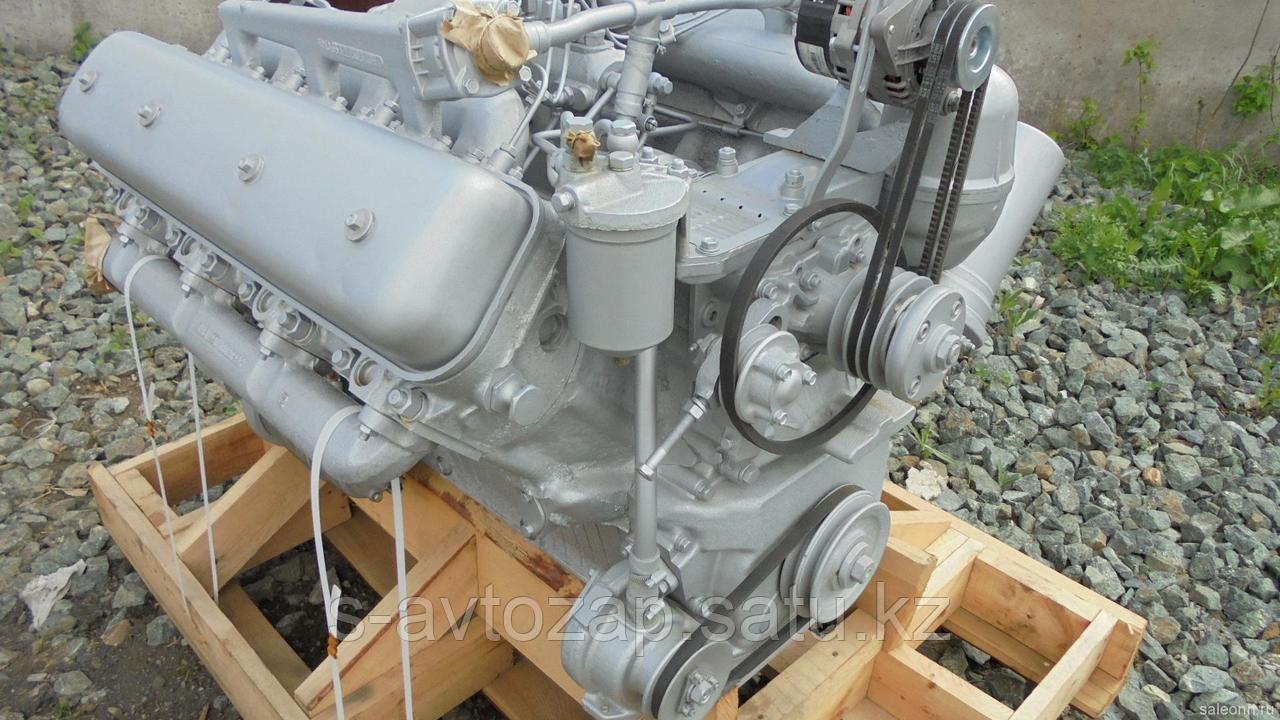 Двигатель без коробки передач и сцепления 30 комплектации (ПАО Автодизель) для двигателя ЯМЗ 238М2-1000186-30