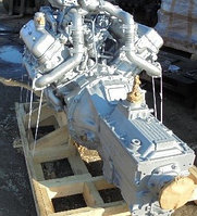 Двигатель с коробкой передач и сцеплением 12 комплектации (ПАО Автодизель) для двигателя ЯМЗ 238М2-1000028