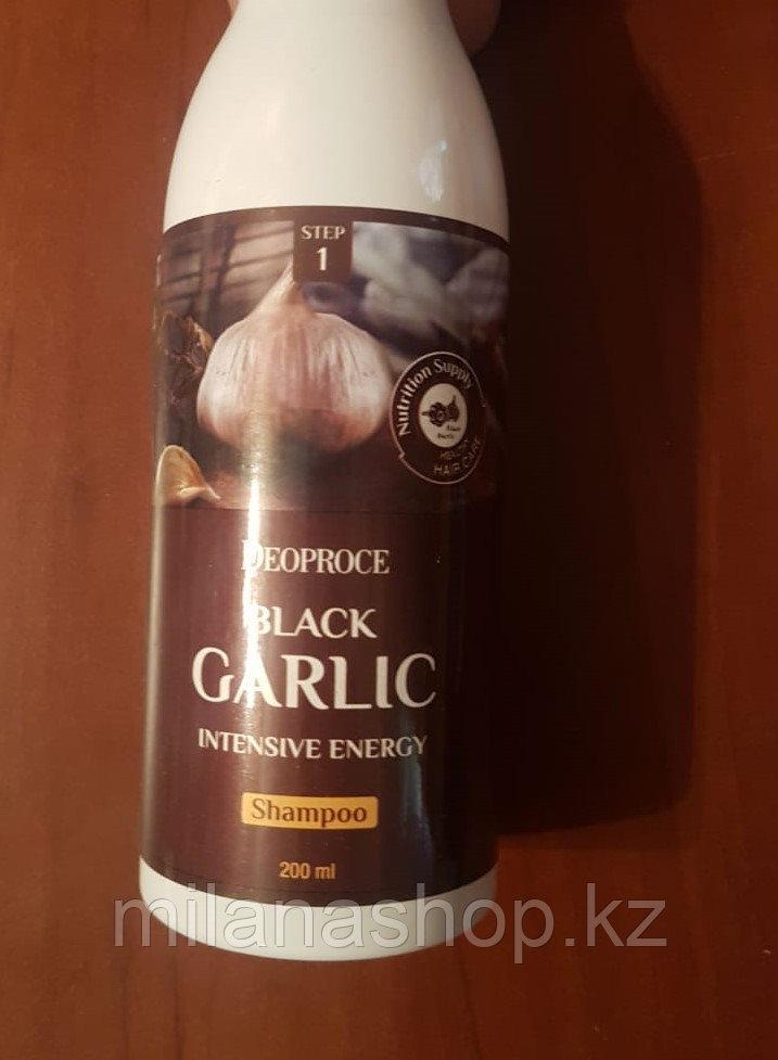 Deoproce Black Garlic Intensive Energy Shampoo - Шампунь для волос с черным чесноком
