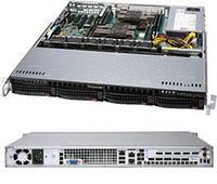 Сервер Supermicro CSE 813MFTQC-505CB/X11DPl-i\1xXeon Bronze 3106\32GB DDR4 ECC\2x256GB SSD 850Pro\500W