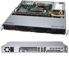 Сервер Supermicro CSE 813MFTQC-505CB/X11DPl-i\1xXeon Bronze 3206R\32GB DDR4 ECC\2x256GB SSD 850Pro\500W