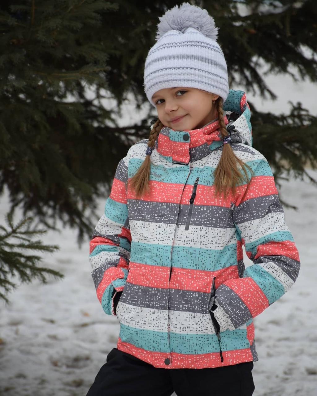 Зимний лыжный костюм для детей