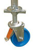 Комплект роликов регулируемых по высоте до 115 мм KRAUSE