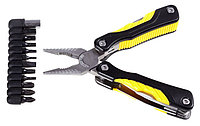 """Набор: Инструмент многофункциональный STAYER """"PROFESSIONAL"""", облегченная рукоятка, с битами, """"11 в 1"""""""