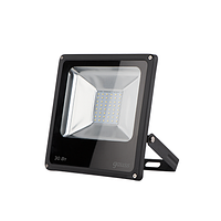 Прожектор светодиодный Qplus 30Вт 3300лм 6500К IP65 175-265В черн. 613511330