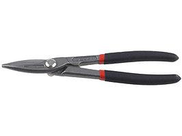 """Ножницы ЗУБР """"МАСТЕР"""" по металлу, цельнокованые, хромованадиевая сталь, обливные рукоятки, прямые, 320мм"""