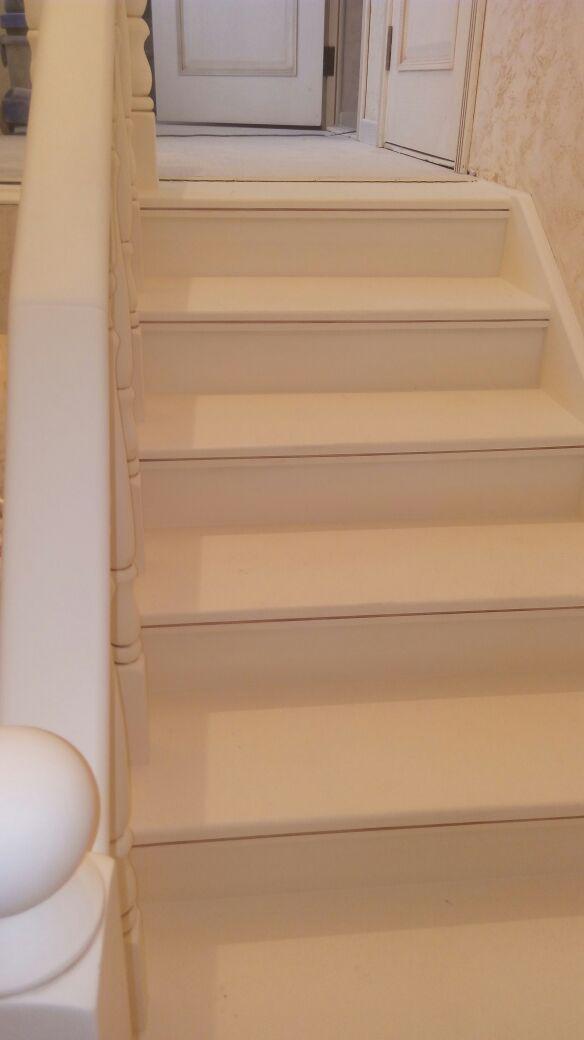 Реставрация лестницы в коттедже
