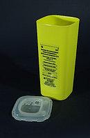 Контейнер 1л для использованных острых инструментов и биологических материалов