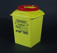 Контейнер 3л для использованных острых инструментов и биологических материалов