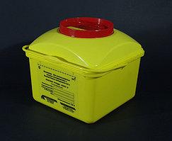 Контейнер 5л для использованных острых инструментов и биологических материалов